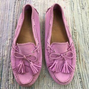 Coach 1941 Shoes Womens 7.5 Purple Nadia Tassel